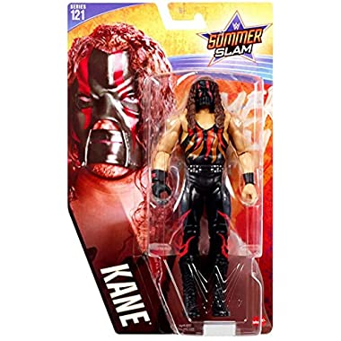 WWE Kane Action Figure Series 121 Action Figure Posable 6 in Collectible for Ages 6 Years Old and Up