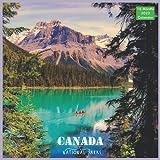 Canada National Parks Calendar 2022: Official Canada Landscape Calendar 2022, 16 Month Calendar 2022
