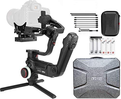 Estabilizador Inteligente Crane3 LAB Zhiyun para Câmeras DSLR e Mirrorless