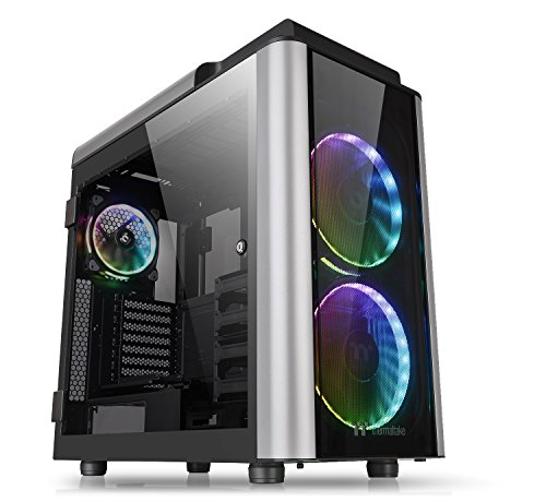 Thermaltake Level 20 GT RGB Plus Full Tower PC-Gehäuse, schwarz/silber