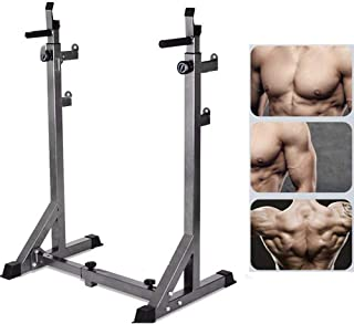 EFGS Squat Rack Weight Lifting Stand, Multifunction Household Barbell Stand, Strength Training, Home Gym