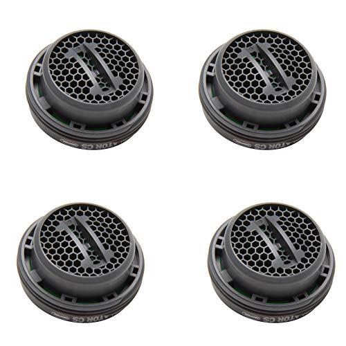 Neoperl 4x Luftsprudler Ersatz PERLATOR® Coin Slot Strahlregler 7,5L/Min M24x1 Ohne Schlüssel Mischdüse Mischpatrone Armaturensieb