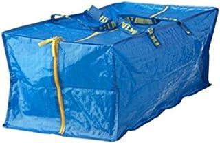 کیسه ذخیره سازی Ikea Frakta ، فوق العاده بزرگ - آبی - 4 بسته (12 بسته)