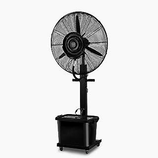 Ventiladores de piso Refrigeración silenciosa, ventilador de pedestal oscilante de altura ajustable de 3 velocidades