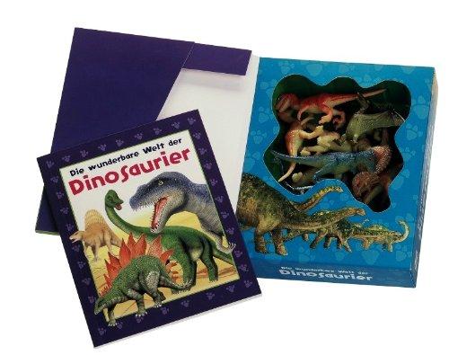 Die wunderbare Welt der Dinosaurier, m. 12 Dinosaurierfiguren