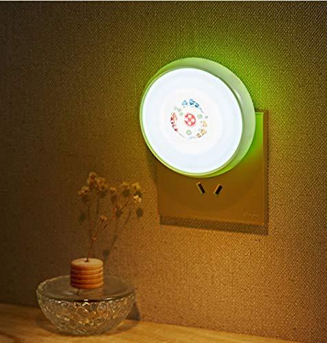 LED Kreative Einfache Lichtsteuerung Sensor Nachtlicht Schlafzimmer Korridor Schule Kreative Energiesparlampe Nacht Baby Fütterung Ändern Windel Gute Wahl B