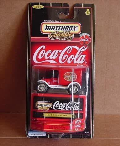 Matchbox Collectibles Coca-Cola 1921 Ford Model T 1:64 Scale