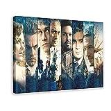 Inception berühmtes Filmkunst-Poster, Leonardo DiCaprio &