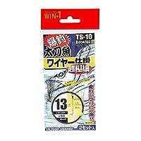 カツイチ(KATSUICHI) 太刀魚極細ワイヤー仕掛 13号 TS-10