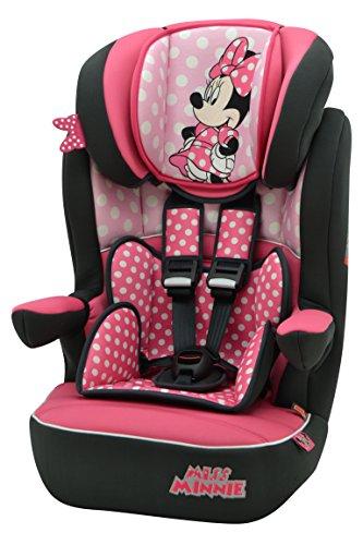 Disney Minnie Mouse Imax SP - Asiento de coche (9 meses a 11 años)
