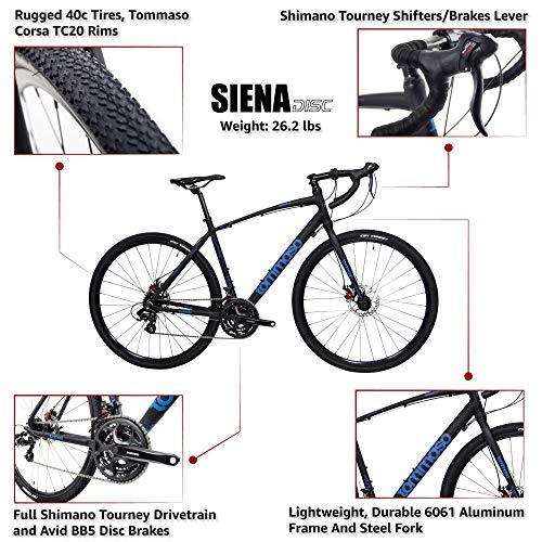 51OCAXOQLBL。 SL500 Tommaso ImolaEnduranceアルミニウムロードバイク