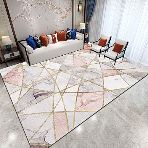 QUD Soft Area Rugs Parlor Mat Rugs Nordic Carpets Anti-Slip Large Rug Carpet for Living Room Decor 20/1/26 (Size : 80x160cm)