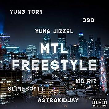 MTL Freestyle (feat. Oso, Yung Jizzel, Kid Riz, Jaay Cee )