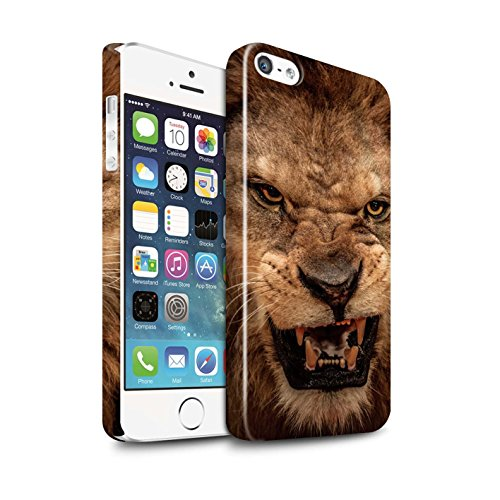 Stuff4 VAR for Wildlife Apple iPhone 5/5S leeuw