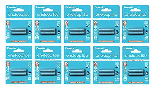 Caja DE 10 Blister - Panasonic Eneloop Lite R03/AAA 550mAh Blister 2