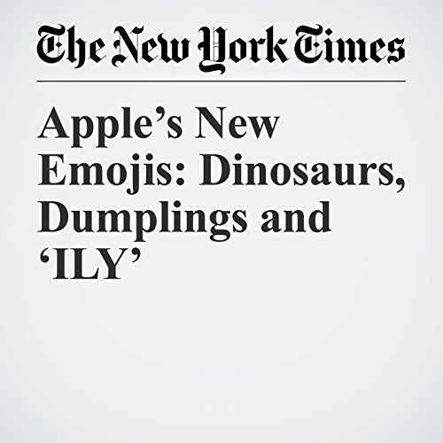 Apple's New Emojis: Dinosaurs, Dumplings and 'ILY' copertina