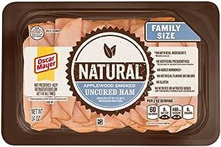 Oscar Mayer Natural Applewood Smoked Ham, 14 oz