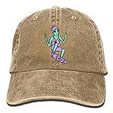 Gorra de béisbol Rad Alien clásica para padre, de algodón, ajustable, color liso