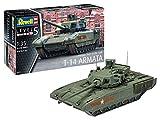 Revell 03274 14 Modellbausatz Russian Main Battle Tank T-14 AR im Maßstab 1:35, Level 5 -