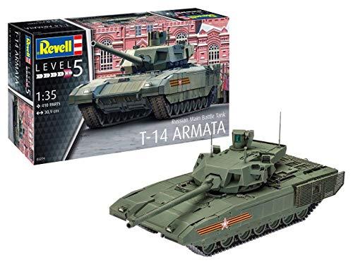 Revell 0327414Maqueta de Russian Main Battle Tank T de 14AR en Escala 1: Niveles 35, 5
