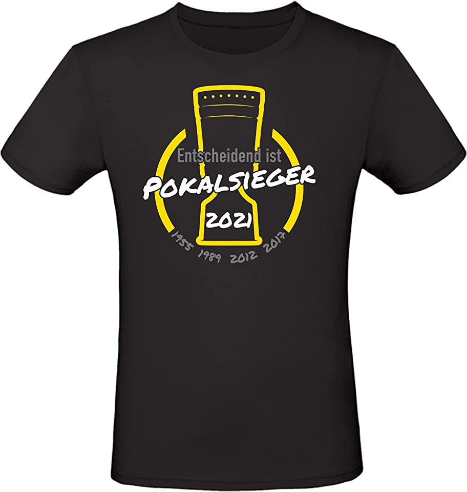 Unisex T-Shirt · Dortmund Pokalsieger · Fan Shirt · 2021 · Entscheidend ist · 100% Baumwolle ·
