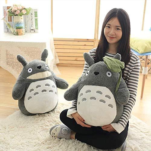 Detazhi 30-70cm Linda de Prensa de Boda del cumpleaños de la muñeca de los niños los niños Juguetes Totoro muñeca Grande Almohada tamaño Totoro de Peluche de Juguete muñeca, 40CM (Size : 30CM)