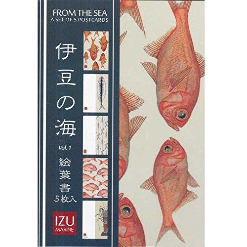 cicada 5枚入り絵葉書 伊豆の海 Vol.1 FROM THE SEA/ポストカード
