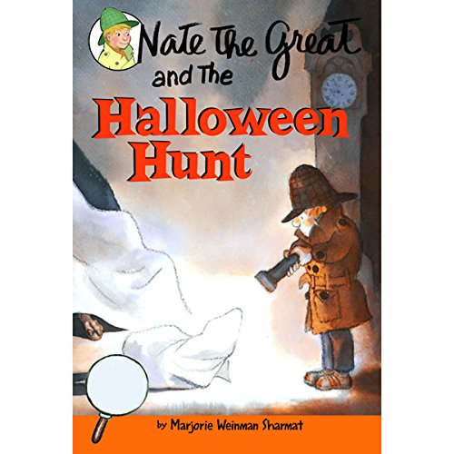 Nate the Great and the Halloween Hunt audiobook cover art
