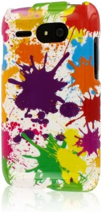 Empire Mpero Snapz Series Glossy Case for Kyocera Event C5133 White Paint Splatter product image
