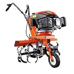 FUXTEC bensin trädgård fräs SET FX-AF1139 inkl bredd förlängning motor hoe arable cutter markflik mark chipping kultivator med hjul 139ccm 2.2KW