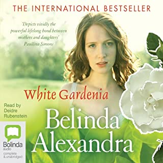 White Gardenia audiobook cover art