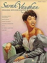 Sarah Vaughan - Original Keys for Singers
