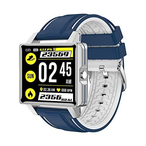 L5 Smart Watch,GPS Waterproof Screen Fitness Watch,with Heart Rate Monitor,Pedometer,Sleep Monitor,Silent Alarm Clock,Super Battery Life,Slim Smart Bracelet(Blue)