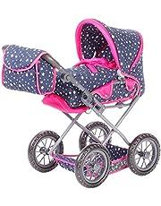 KNORRTOYS.COM 63106 Knorrtoys 63106 wózek dla lalek Ruby-Star Blue wózek dla lalek
