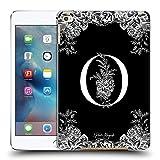 Head Case Designs Officiel Nature Magick Lettre O Monogramme Fleurs B&W 2 Coque Dure pour l'arrière...