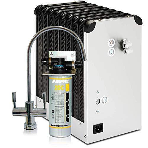Depuratore Acqua ForHome Refrigeratore Da Sotto Lavello Con Everpure 2 Vie Acqua Depurata Ambiente E Depurata Refrigera.