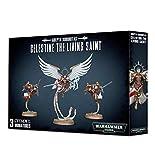 Games Workshop Warhammer 40,000 Adepta Sororitas Celestine The Living Saint Miniatures