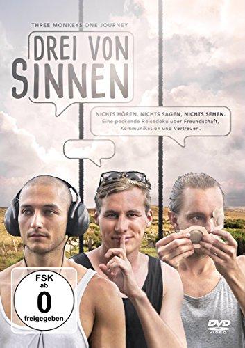 DVD - Drei von Sinnen - Dokumentarfilm, Abenteuer, Reise, Experiment