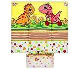 Best For Kids BESONDERE KUSCHELWEICHE Wickelauflage 100% Baumwolle Wickeltischauflage 3 in 1 in 3 Größe 70x85 mit Öko Tex Standart