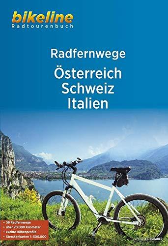 RadFernWege Österreich, Schweiz, Italien (Bikeline Radtourenbücher)