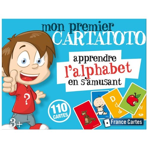 Cartatoto France Cartes - 410055 - Jeu de Cartes - Cartatoto Alphabet