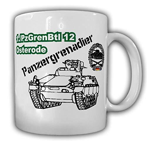 1 PzGrenBtl 12 Osterode Panzergrenadierbataillon Panzergrenadier Tasse #15596