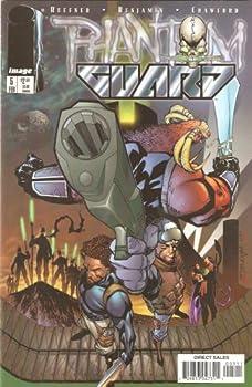 Comic Phantom Guard #5 February 1998 Book