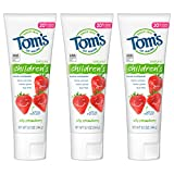 Luxury Beauty & Personal Care! - Tom's of Maine Natural Children's Fluoride Toothpaste, Silly Strawberry, 5.1 Oz. (Pack of 3)