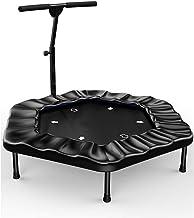 40 Inch Trampoline, Fitness Trampolines Trampoline Met Verstelbare Handvat Trampette For Kids Volwassenen Workout Uitoefen...