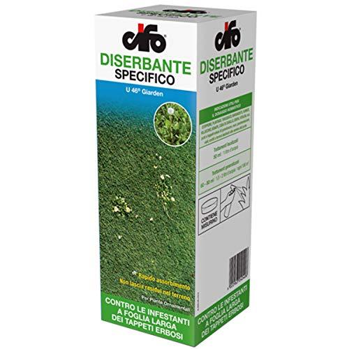 CIFO Diserbante per Piante a Foglia Larga dicotiledoni U 46 giarden pfnpo 500 ml (Tipo DICOTEX)