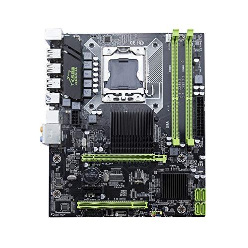 Docooler Jingsha moederbord DDR3 1366PIN moederbord met i7 5675 processor
