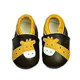 Zapatos de bebé Suela Suave JINBAOBAO Zapatos de pre-Caminante de Cuero Zapatos...