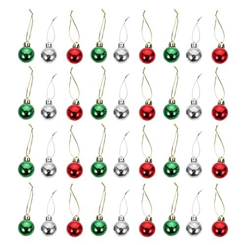 IMIKEYA 108Pcs Palle di Natale Ornamenti Palline di Natale Decorativo Palle di Natale Albero di Natale Palle Infrangibile Ornamento' Albero di Natale Rifornimenti del Partito di