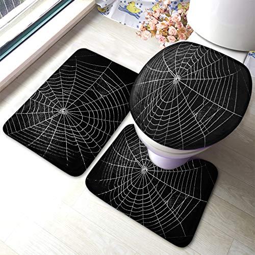 Bath Mat Horror Spider Web